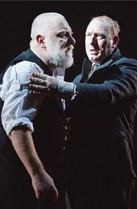 Simon Russell Beale as KIng Lear, National Theatre