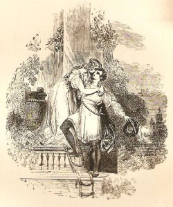 Harvey's illustration for Romeo and Juliet
