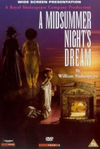 Poster for Adrian Noble's film of A Midsummer Night's Dream
