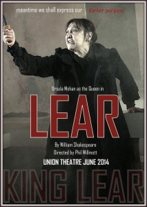 ursula mohan as Lear