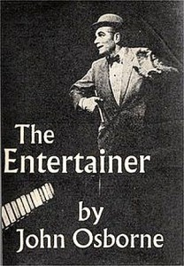 The programme for The Entertainer