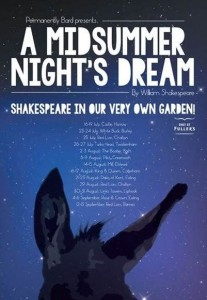 Permenently Bard's poster for A Midsummer Night's Dream