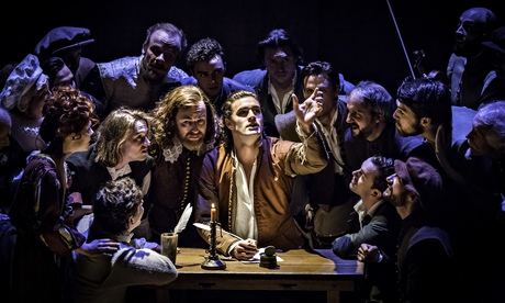 A Scene From The Stage Version Of Shakespeare In Love