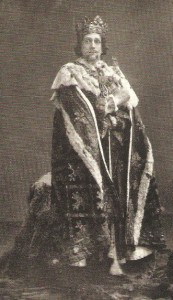 Frank Benson as Richard II
