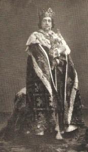 Frank Benson as Richard II