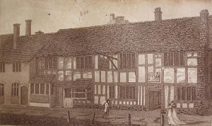 The birthplace in the early nineteenth century