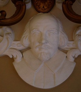 The Shakespeare sconce