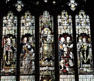 The American Window in Holy Trinity Church