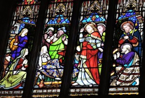 The window in Holy Trinity Church dedicated to Robert Bell Wheler