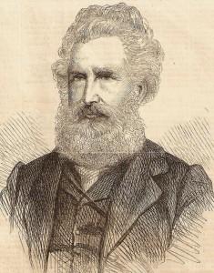Edward Fordham Flower in 1864