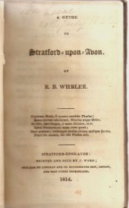 Wheler's 1814 Guide to Stratford