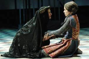 Constance and Arthur from Shakespeare and Company's 2005 production of King John