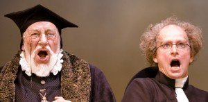 Jeffery Dench and Ian Hughes in Merry Wives the Musical, 2006-7