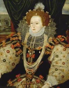 Queen Elizabeth 1, circa 1588