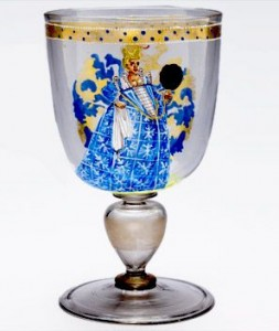 The Venetian glass goblet
