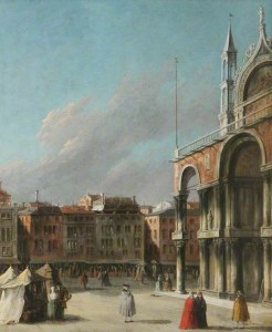 St Mark's Square, Venice. Italian School