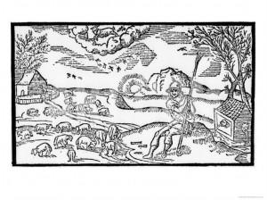 December from Spenser's Shepherd's Calendar