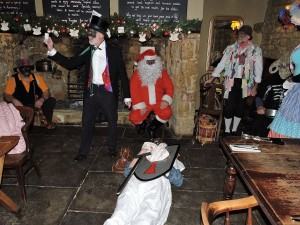 The Ilmington Mumming play at the Howard Arms