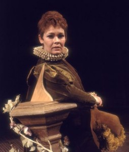 Judi Dench as Viola, Twelfth Night, RSC 1969