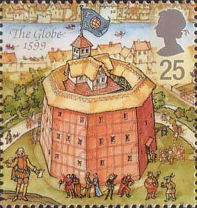c walter hodges globe stamp