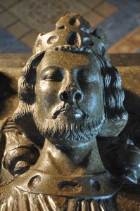 King John's effigy in Worcester Cathedral