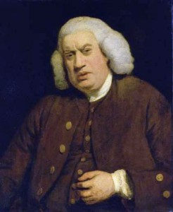 Samuel Johnson, by Joshua Reynolds