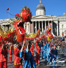 Celebrating the Chinese New Year in London