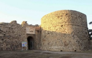 The fortress in Famagusta, Cyprus
