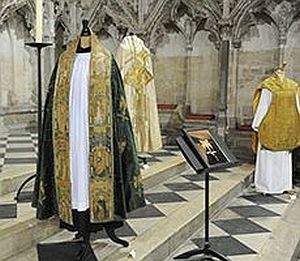 The medieval cope at Ely Cathedral