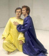 John Kane as Puck, Alan Howard as Oberon, A Midsummer Night's Dream
