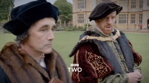 Cromwell and Henry from Wolf Hall