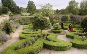 A garden scene from Wolf Hall