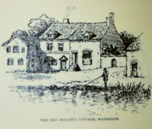 The Sexton's cottage