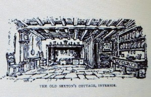 Inside the Sexton's house