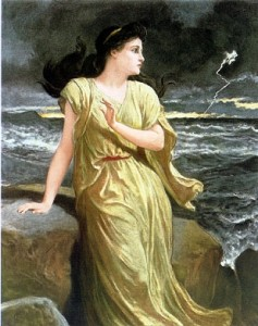 Miranda, painted by Frederick Goodall