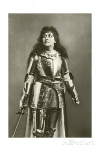 Mary Kingsley as Joan of Arc