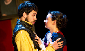 Alex Hassell and Pippa Nixon in the RSC production of Cardenio, 2011