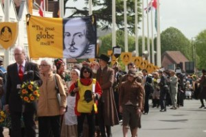 Stratford's procession