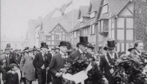 1915 procession in Stratford