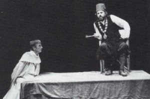 John Carlisle as Ferneze and Alun Armstrong as Barabas, RSC 1987