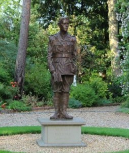 Statue of Rupert Brooke in Grantchester