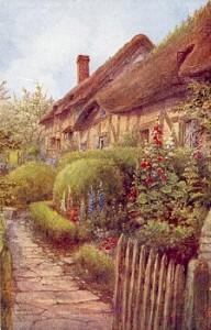 Anne Hathaway's Cottage garden