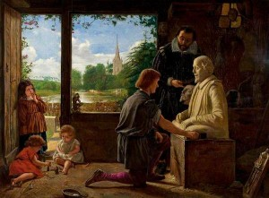 A Sculptor's Workshop, Stratford-upon-Avon by Henry Wallis