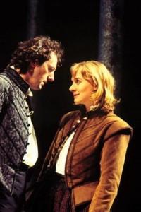 Liam Cunningham as Orlando, Niamh Cusack as Rosalind, RST 1996