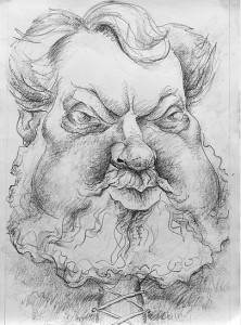 Antony Sher's portrait of Orson Welles as Falstaff