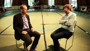 Andrew Marr interviewing Trevor Nunn