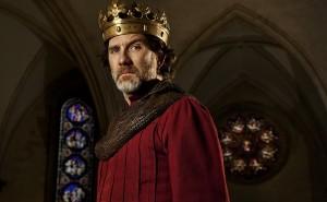 Jo Stone-Fewings as King John (Shakespeare's Globe, 2015)