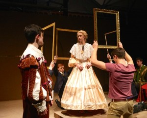 Edward's Boys production of The Lady's Trial