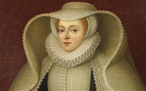 Elizabeth, Lady Hoby, nAe Elizabeth Cooke (1528-1609), Late 18th cent.. Artist: Bone, Henry (1755-1834)...DE718R Elizabeth, Lady Hoby, nAe Elizabeth Cooke (1528-1609), Late 18th cent.. Artist: Bone, Henry (1755-1834)