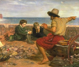 The Boyhood of Raleigh, by Millais
